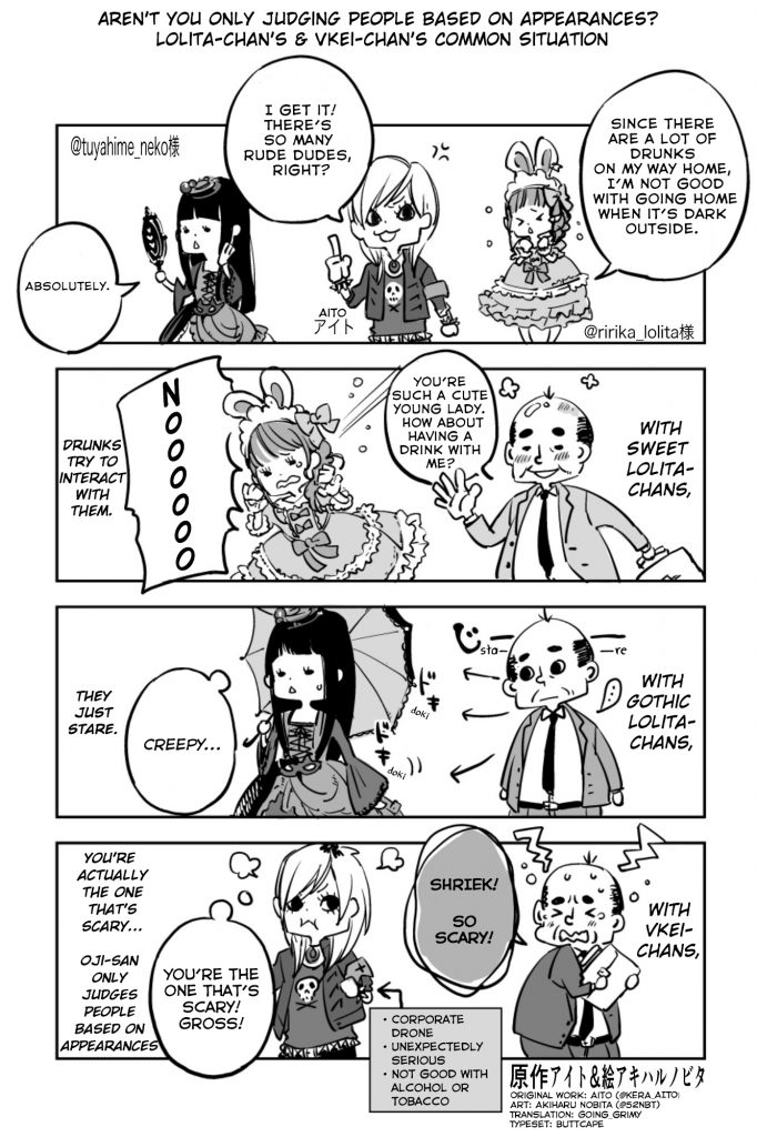 Lolita-chan's Common Situation by Aito
