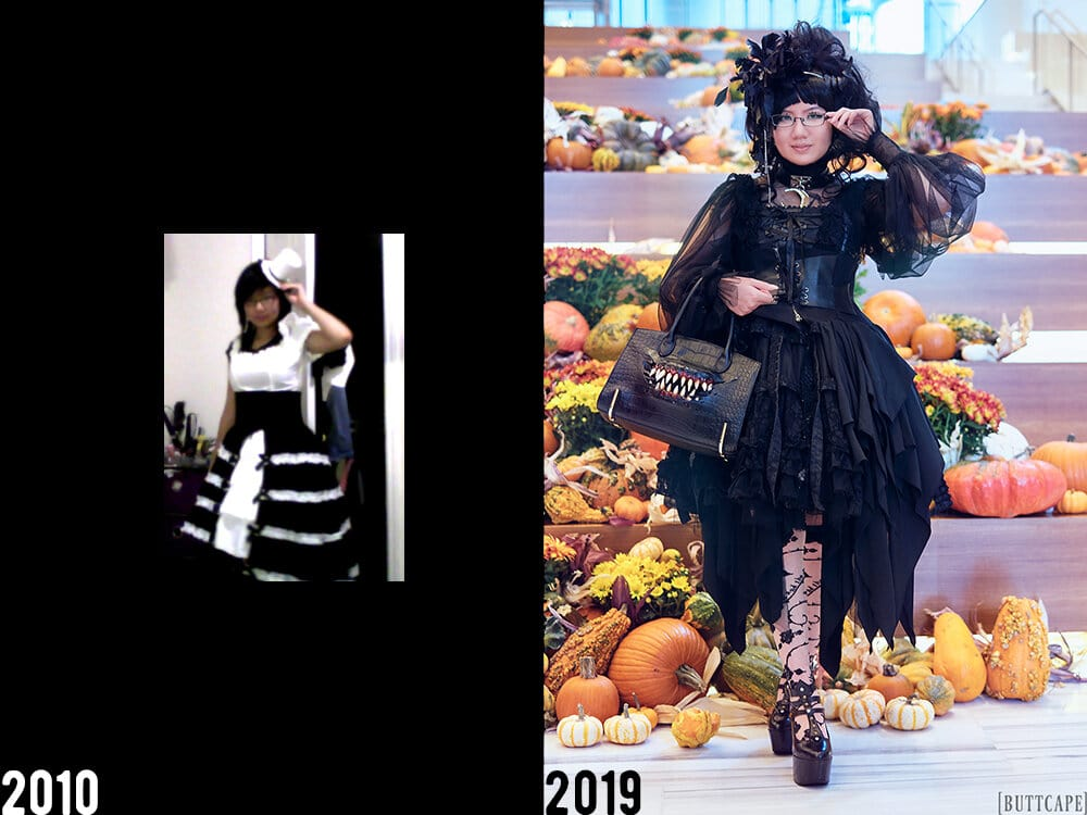 2010 vs 2019 outfits