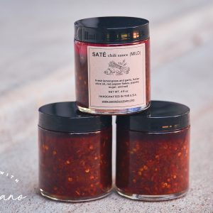 Houston-Made Vietnamese Chili Oil | Pantry By Nature's Saté Review