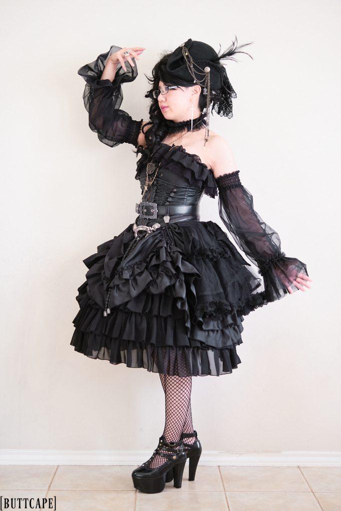 gothic ero pirate lolita coordinate