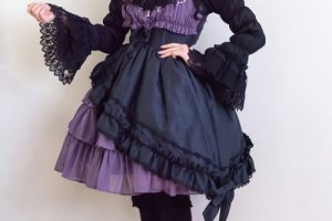A Gothic Valentine's Outfit