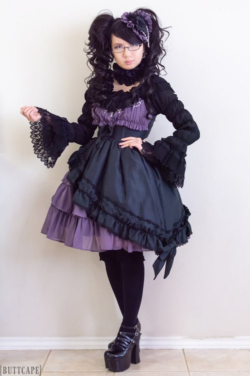 Alice and the Pirates Gathered Chiffon coordinate