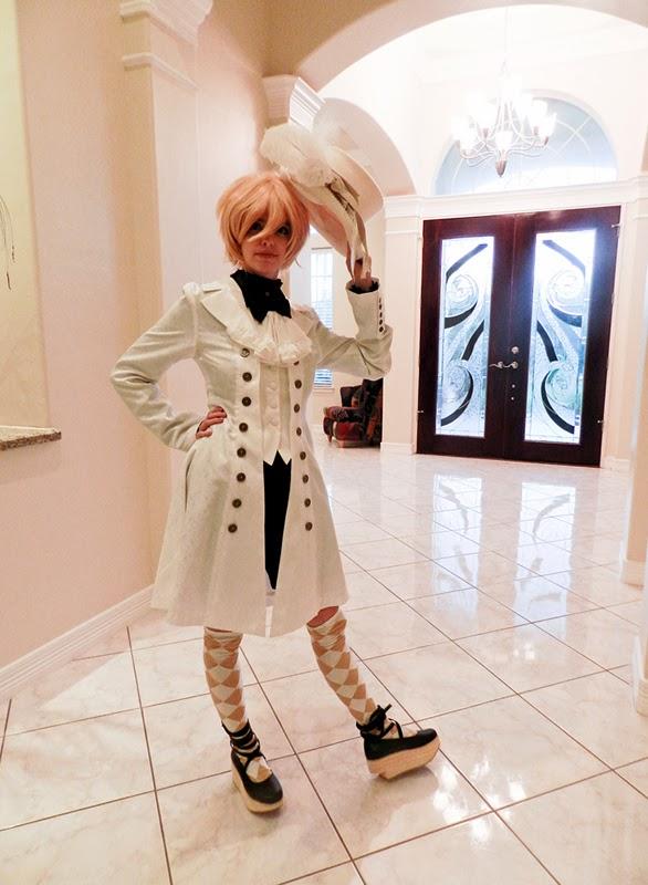 ouji fashion white coordinate