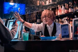Visual Kei Artist CHISA from ACME Celebrates Birthday at Shinjuku LOFT