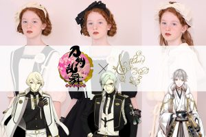 Touken Ranbu -ONLINE- x Melody BasKet Clothing Collaboration