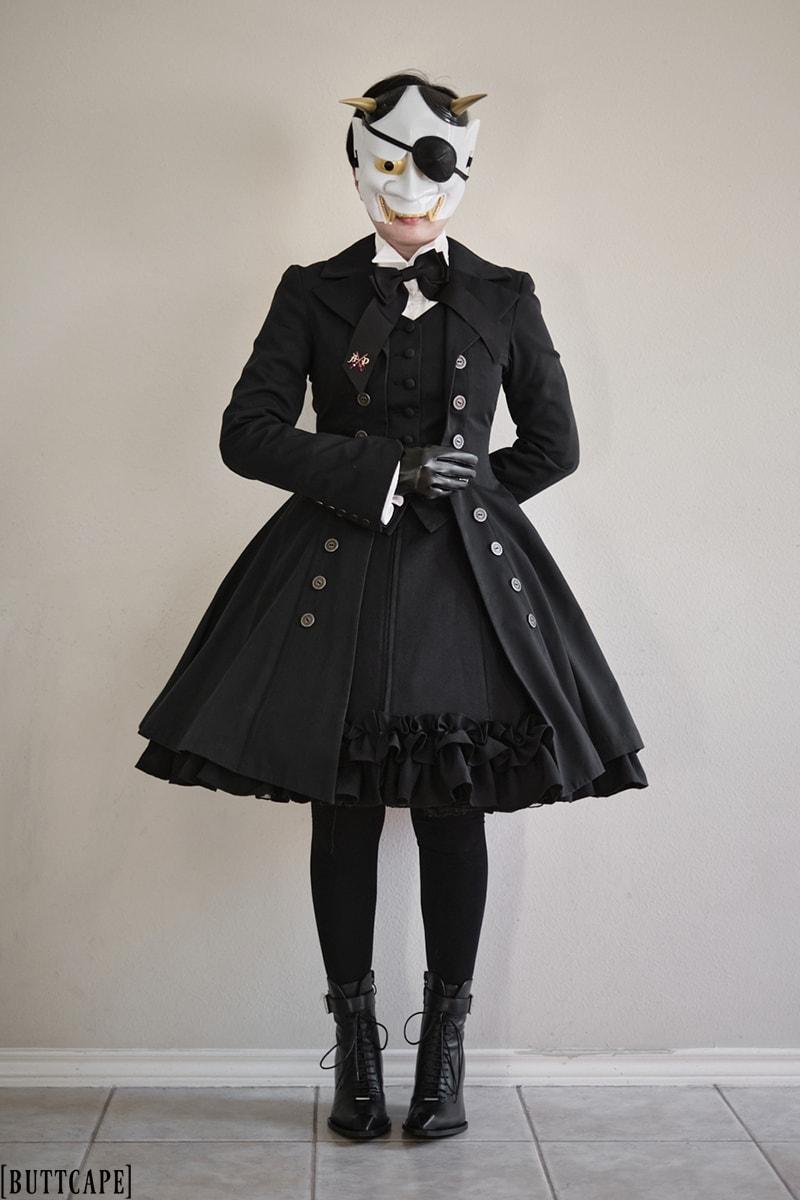 Goro Majima Hannya Man Inspired Outfit