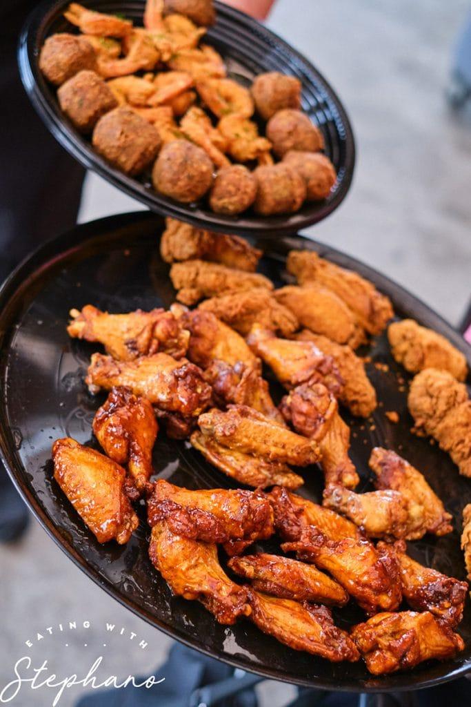 wing quarter chicken wings