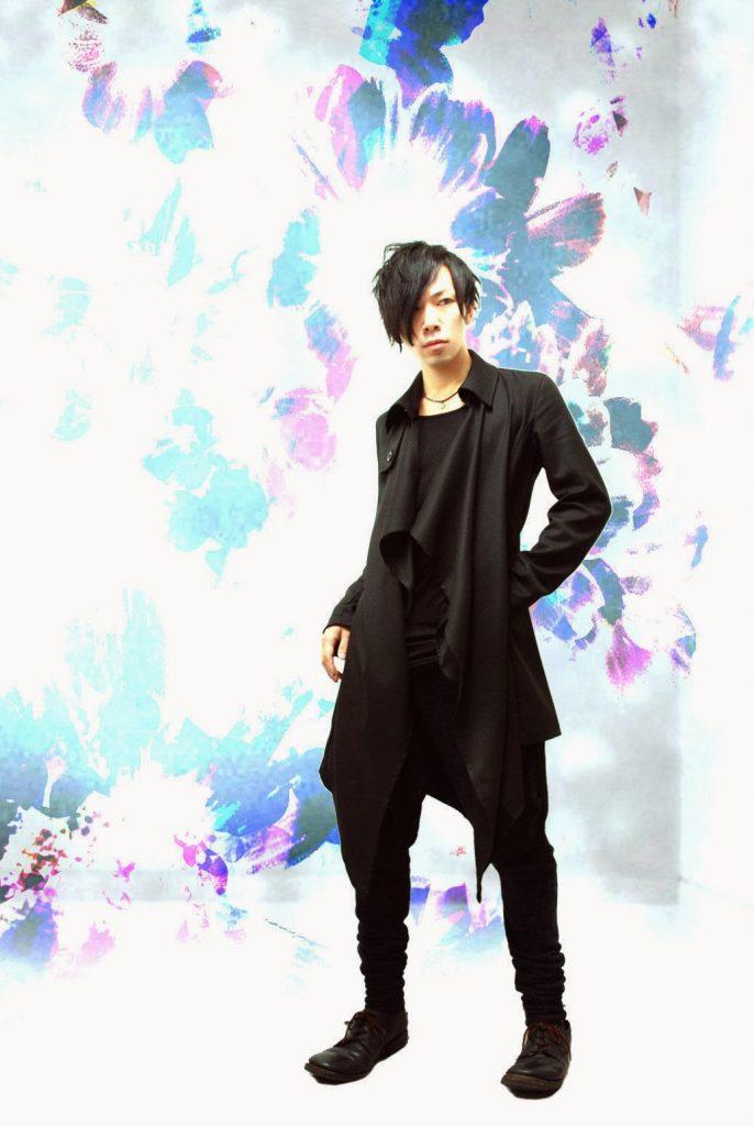 MiDiom model mens gothic streetwear