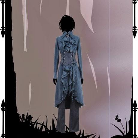 Black gothic aristocrat outfit