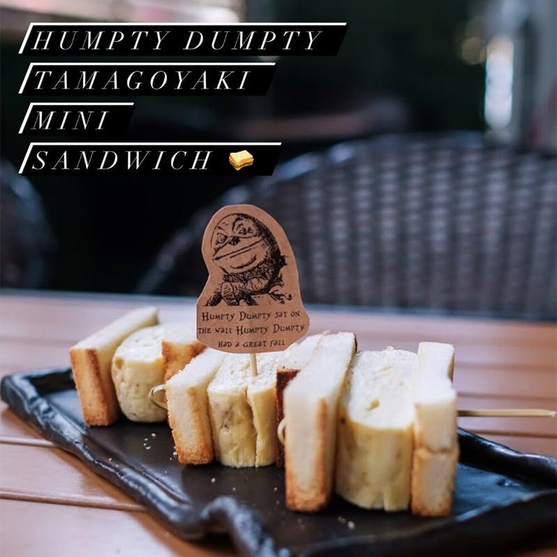 Humpty Dumpty egg sandwich