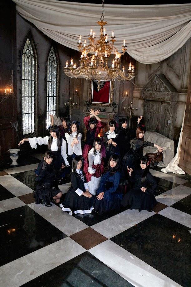 Atelier Boz and Lapin Agill in SKE48 PV