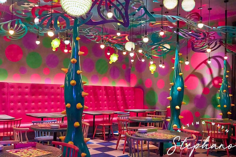 kawaii monster cafe room decor