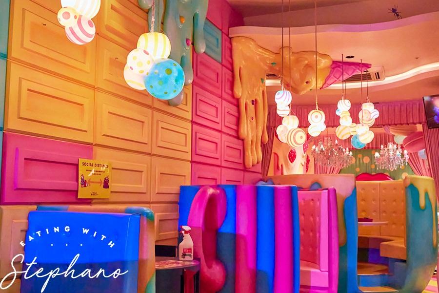 kawaii monster cafe decor
