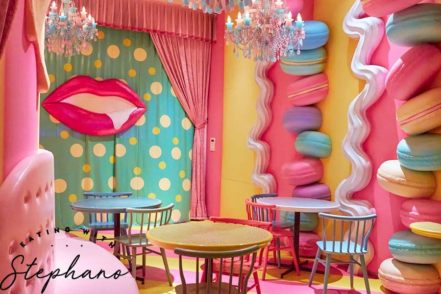 kawaii monster cafe sweets room decor