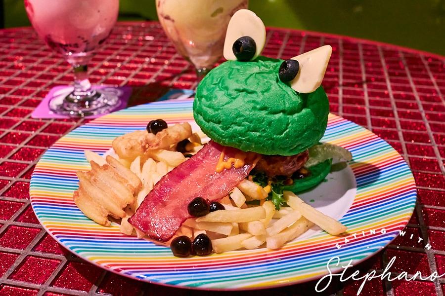 kawaii monster cafe burger