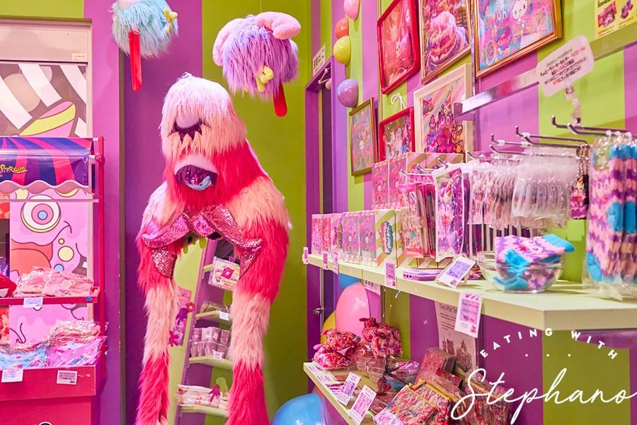 kawaii monster cafe gift shop