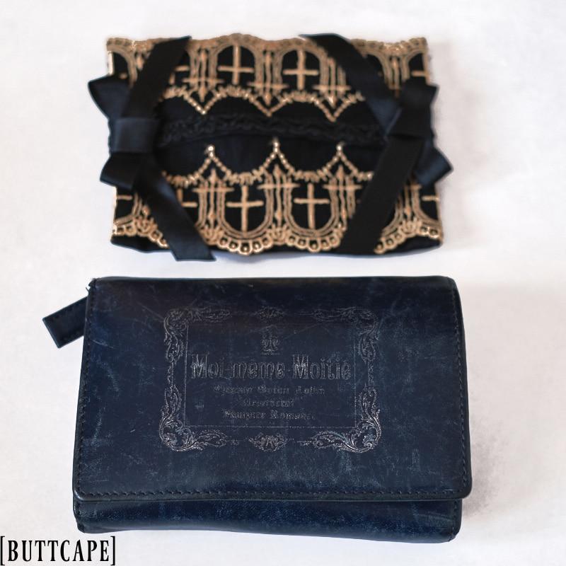 Moi meme Moitie wallet and Holy Cross tissue case