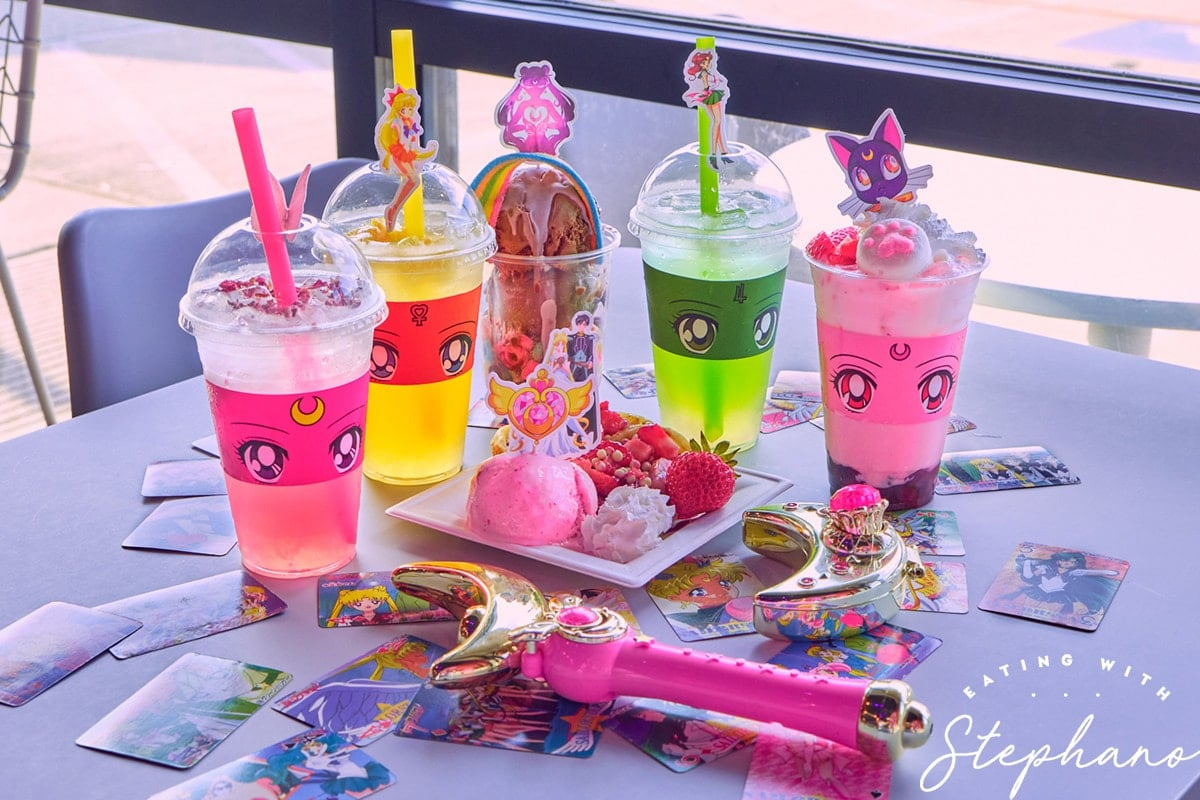 Sailor Moon cafe food