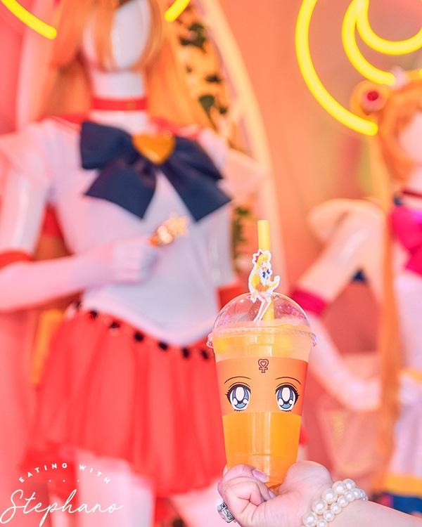 Sailor Venus inspired drink