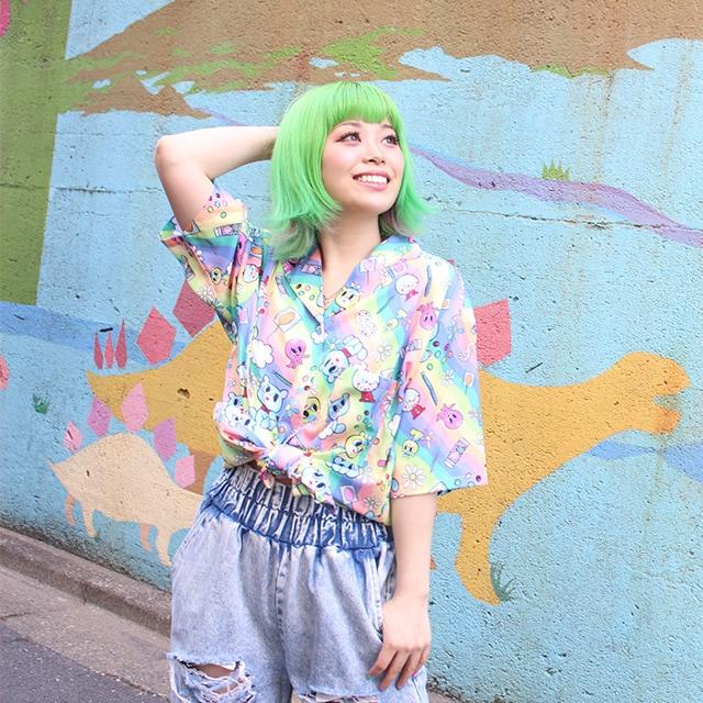 Haruka Kurebayashi wearing the Candy Paradise Blouse