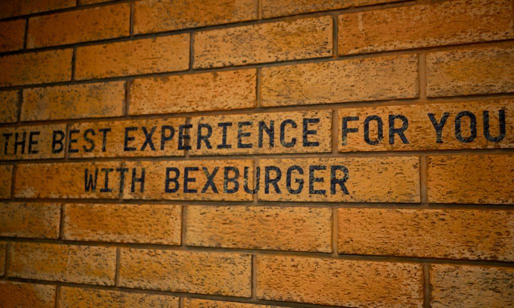 BEX Burger Slogan