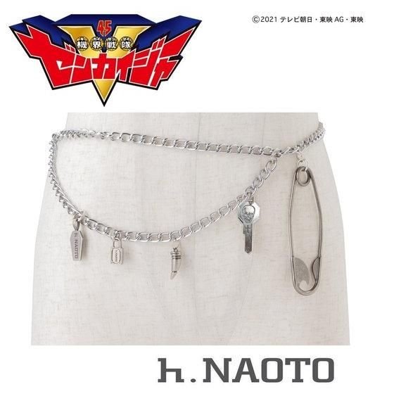 h.NAOTO chain belt
