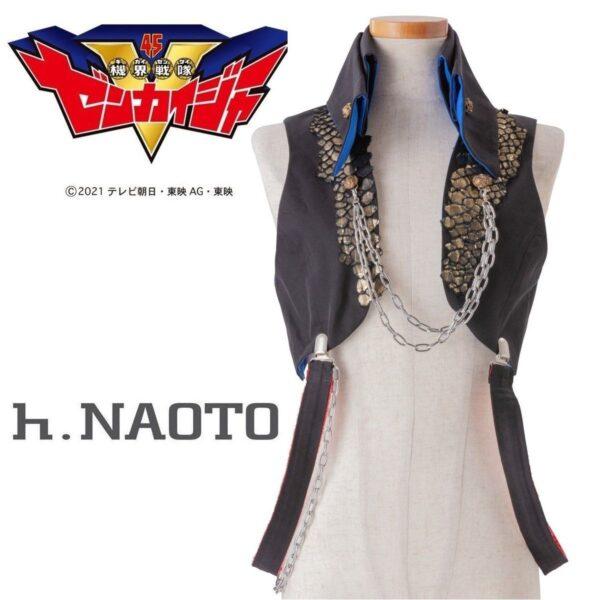 h.NAOTO Flint Vest