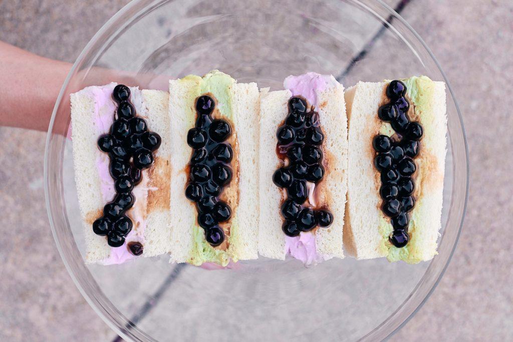 boba cream sandwiches