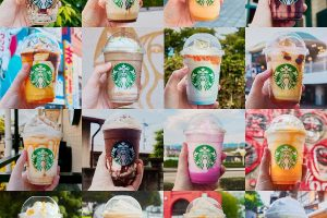 I Tried to Drink All 47 Starbucks Jimoto Frappuccinos